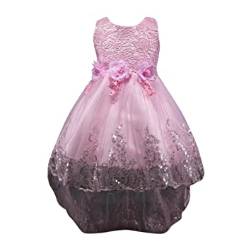 Ärmellose Kleider für Mädchen Alter 3-10 Kleid Kinder Mädchen Party ...