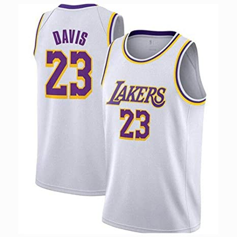 Lakers Camiseta de Baloncesto para Hombre # 23# Camiseta sin ...