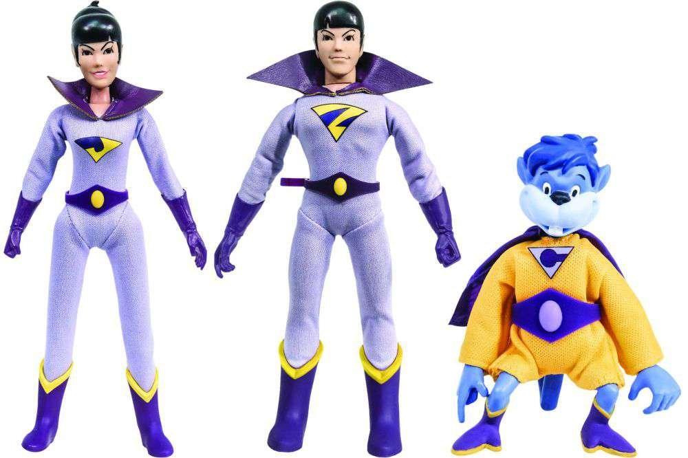 Action Figuren – DC SuperFriends   1 The Wonder Twins W/Gleek 20,3 cm dcsf2pk01