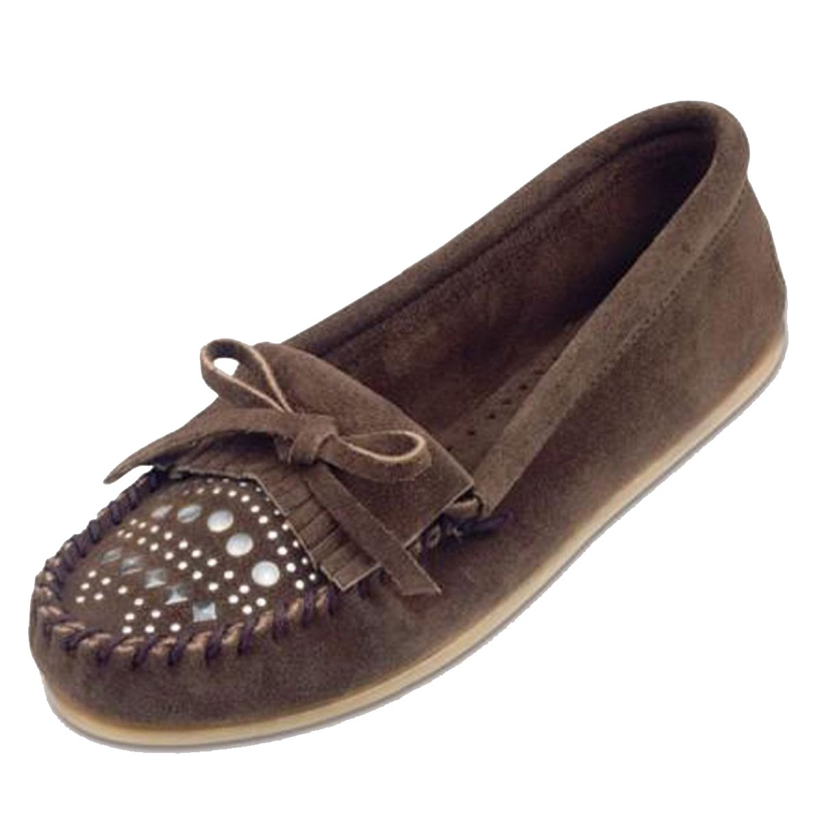Minnetonka, Mocassini donna Marrone Dusty Brown)