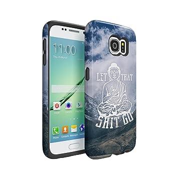 Yoga Buddha Let That Shit Go Funda Samsung Galaxy S6 Doble ...
