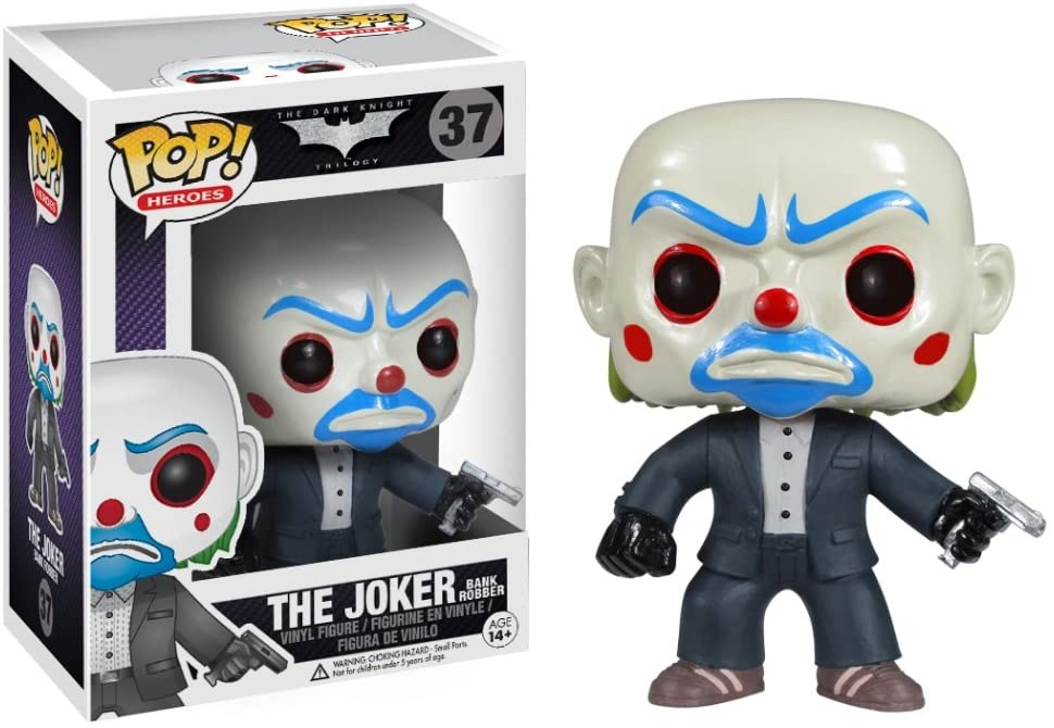 "Batman The Dark Knight Joker Supersize 10"" Funko Pop Vinyl Figure Heath Ledger"