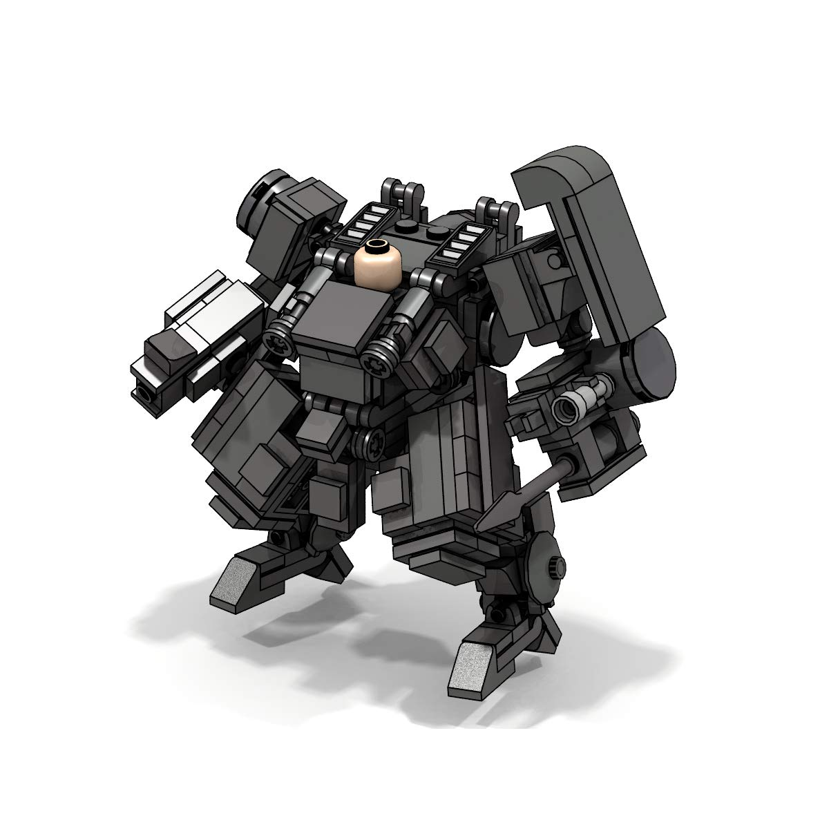 LetMay Original Series,WolfwereMan Building Blocks MOC 423 Parts Compatible with Lego Set