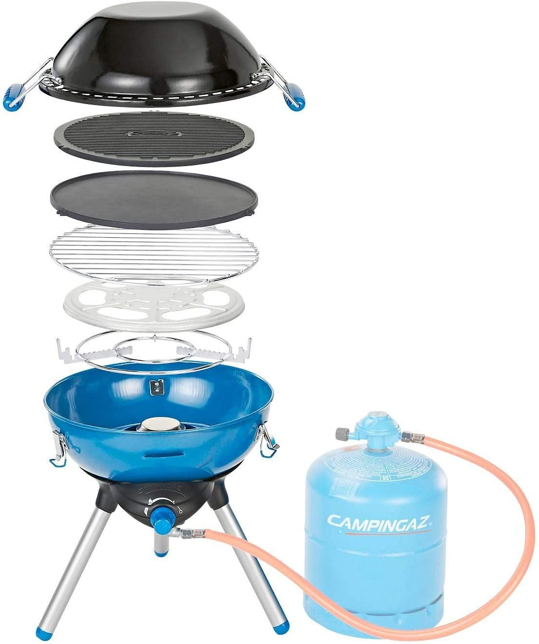 Campingaz parrilla de gas, Azul, 45 x 15 x 15 cm, 694001 ...