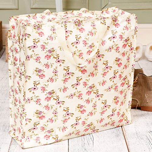 Woven For 5cm D14 Any Reusable Shopping The x W44 Bag Floral Ultimate Accessory Vine Shopper Trip H44 x 5Rq8EWw1