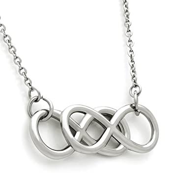 Amazon Double Infinity Necklace Best Gift For Friend Or Loved