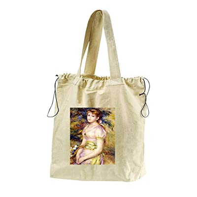 619d442387bc 60%OFF Of Two Drunks By Grigorescu Canvas Drawstring Beach Tote Bag ...