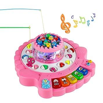 Juegos De Pesca Piano Infantil Juguete Juegos De Mesa Para Ninos 4