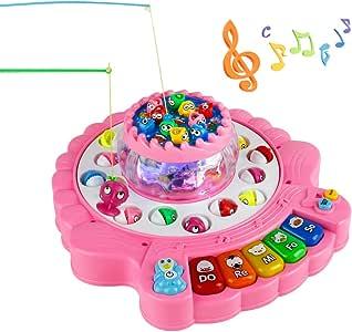 Juegos de Pesca,Piano Infantil Juguete, Juegos de Mesa para Niños ...
