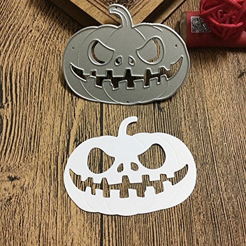 Halloween Abóbora de Metal Cortando Morre Para o Cartão Que FAZ Scrapbooking DIY Papel Álbum Template Stencil Die Cortes Feitos À Mão Artesanato