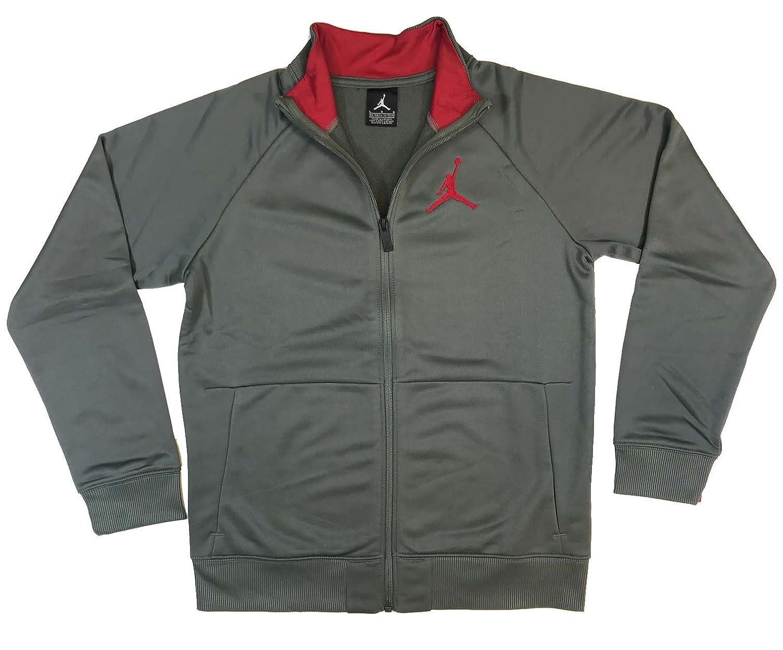 313e61af5780e8 Amazon.com  Nike AIR Jordan AJ Modern Tricot Jacket - Boys  Grade School   Clothing