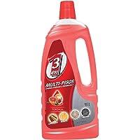 3 en 1 Limpiador Líquido Multi-Pisos, Toronja Rojo, 1L