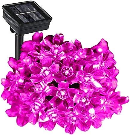 Jardin Fleur Forme DEL à énergie Solaire Lumières Extérieure Debout decor jardin