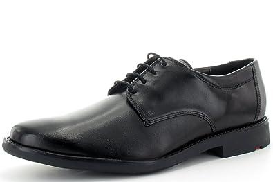 LLOYD 25-654-00 Nevio - Business Schnürschuh - Nappaleder schwarz -  Gummisohle