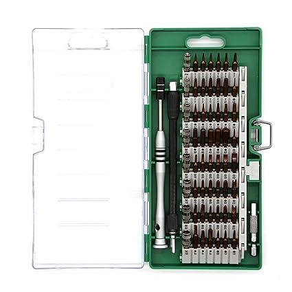 60 en 1 Kit de Destornillador Completo para Smartphone teléfonos ...
