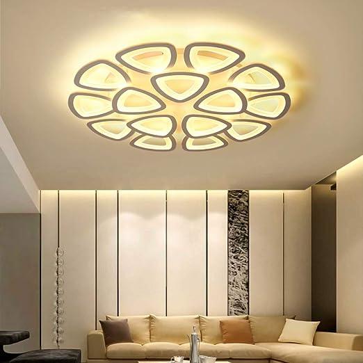 Fangyn Lustre Moderne Led Lustre Lustre Art Deco Triangle Lampe