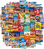 Cookies Chips & Candy Snacks Assortment Bulk Sampler by Variety Fun (Care Package 80 Count)