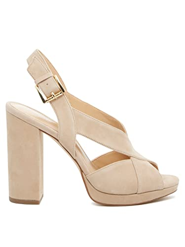 32ec39b1fd0 Michael Kors Womens Becky Platform Peep Toe Special Occasion Slingback  Sandals  Amazon.co.uk  Shoes   Bags