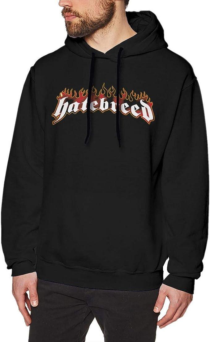 Imagen deADUUOS Hatebreed Logo Mens Long Sleeve Sweatshirts Mans Hoodies Black