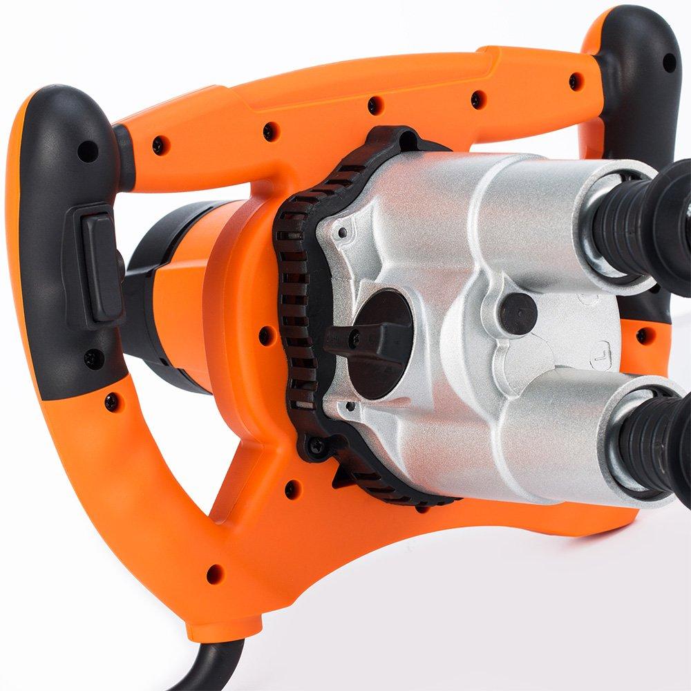 Malaxeur m/élangeur professionnel 950W B/éton Peinture Tout Travaux batteur mortier agitateur