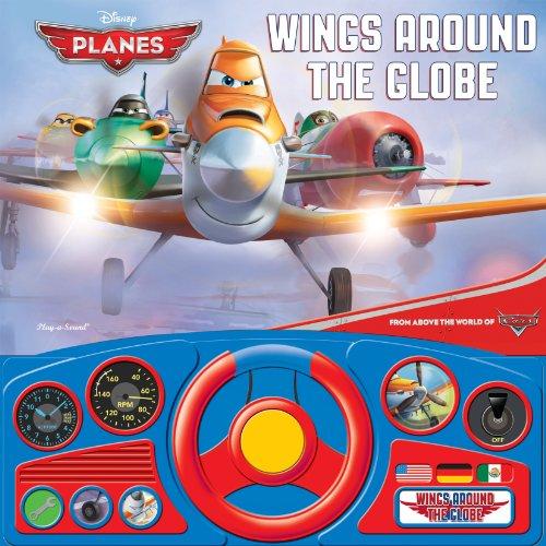 Disney: Planes: Wings Around the Globe: Steering Wheel Book