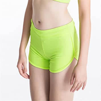 SYW Yoga Shorts Damas Anti - luz Liners Hot Pants Deportes ...