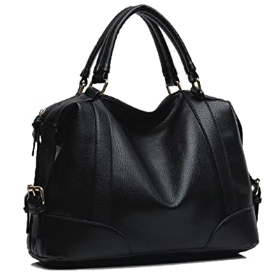 Amazon.com: Hynes Victory Womens Luxury Hobo Handbag (Black): Shoes