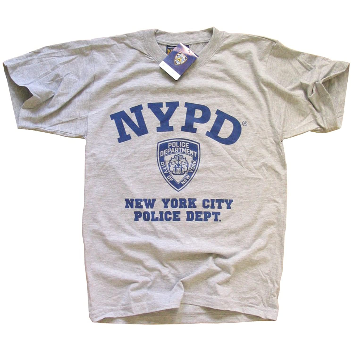 amazon com nypd t shirt new york police department athletic tee