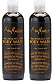 SheaMoisture African Black Soap Body Wash, 13 Ounces - 2pc