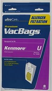 Other 50105 UltraCare Vacuum Bag, Type U, 8-Pack Genuine Original Equipment Manufacturer (OEM) Part