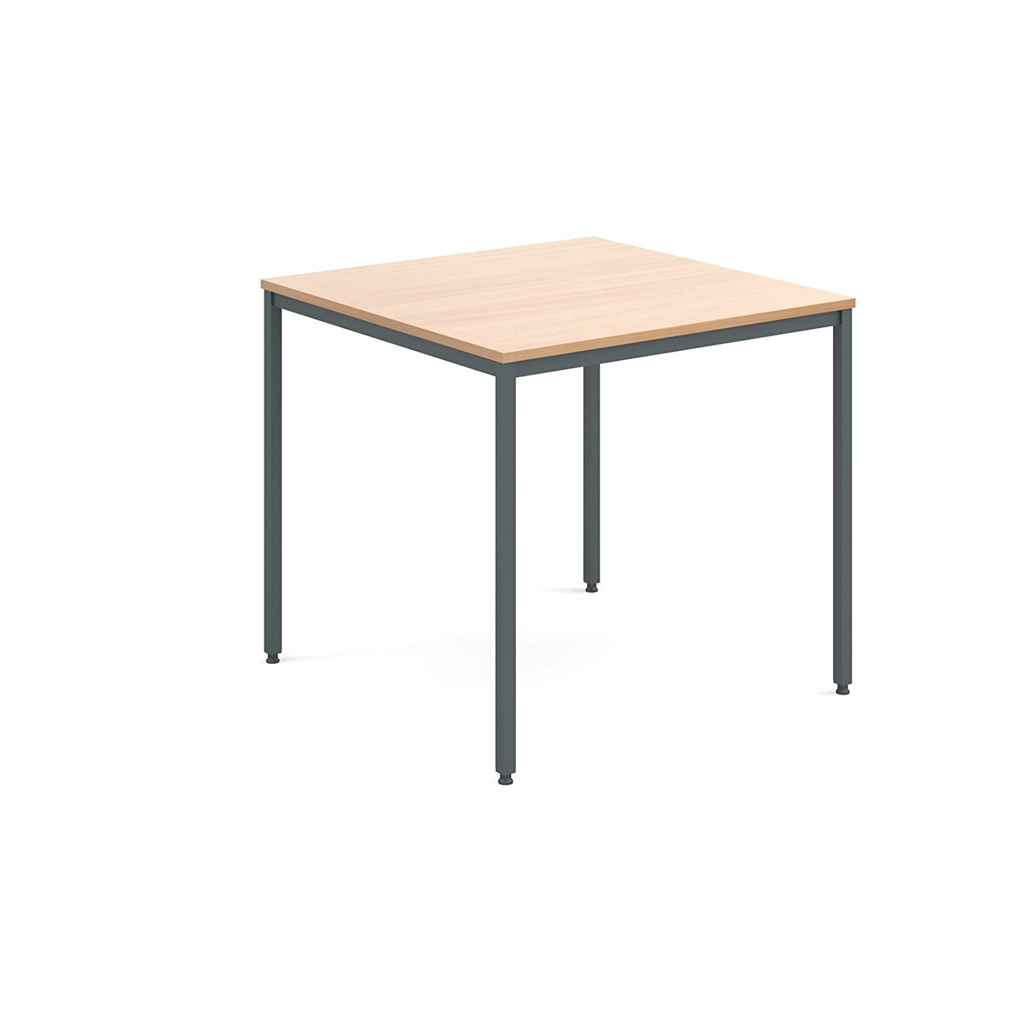 Flexi table 800 Graphite frame - Beech Dams