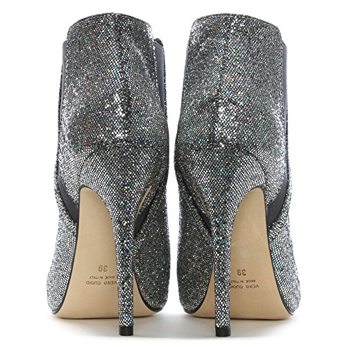 Ankle Silver Silver Boots Apeep Daniel Metalic Glitter Metallic 7BpIqZ