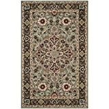 Safavieh Heritage Collection HG736A Grey and Charcoal Area Rug (6′ x 9′)