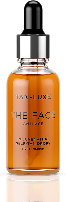Tan-Luxe The Face Anti-Age Rejuvenating Self-Tan Serum Drops 30ml ...