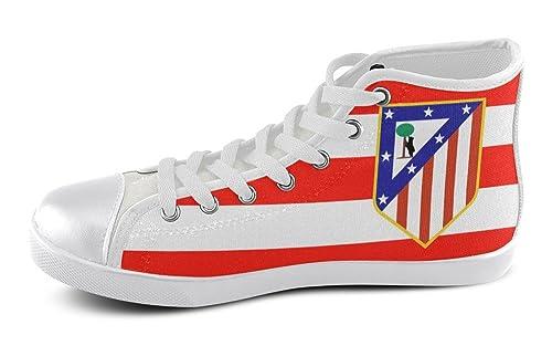 Hombre High Top Zapatillas Deportivas con Logo Atlético de Madrid: Amazon.es: Zapatos y complementos