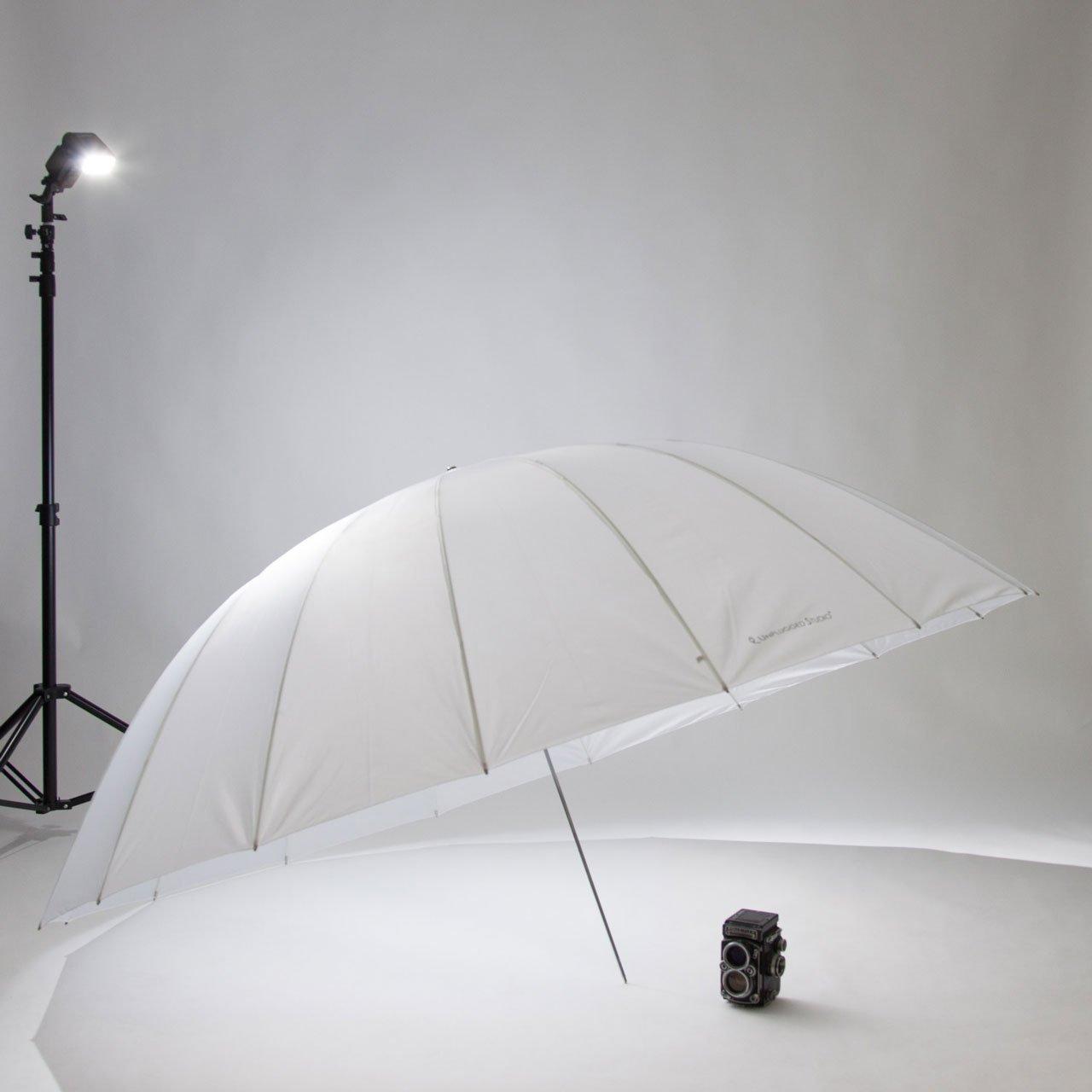 UNPLUGGED STUDIO 70inch Translucent Umbrella (16 Fiberglass Ribs) by UNPLUGGED STUDIO (Image #8)