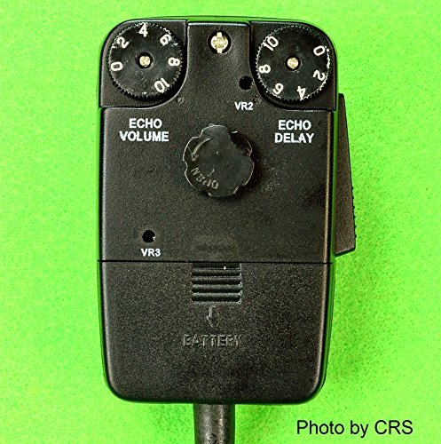 POWER/Tornado ECHO Mic for CB/Ham Radio 4 pin Cobra/Uniden - Workman DM1000
