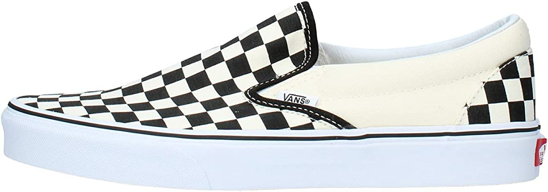 Vans Classic Slip on Checkerboard, Baskets Mixte