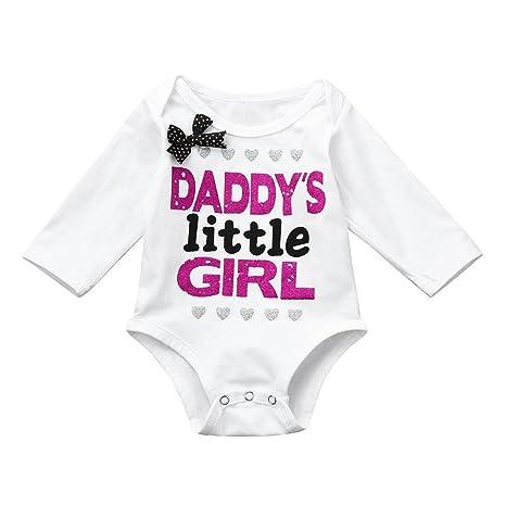 3f76bf9d3 feiXIANG Ropa de bebé niños Primavera y Verano Carta de impresión de Manga  Larga Pajarita Mono bebé Infantil ...