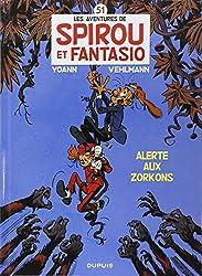 Spirou et Fantasio, n° 51 : Alerte aux Zorkons