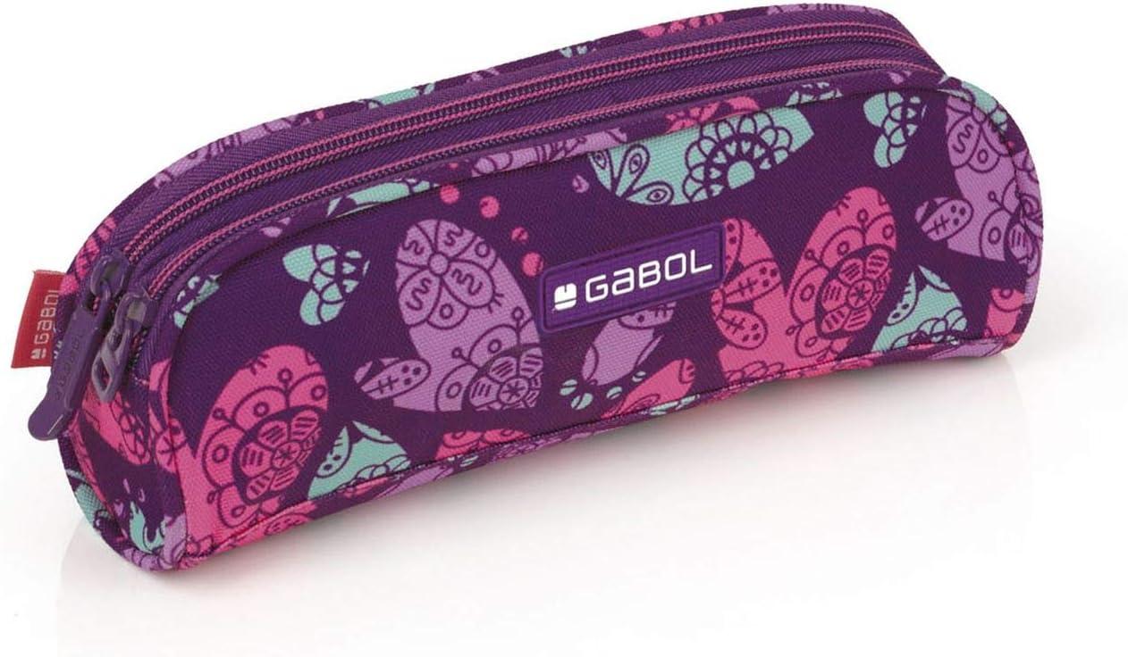 Gabol Doble Dream - Estuche Portatodo, Multicolor, 22 cm: Amazon.es: Equipaje