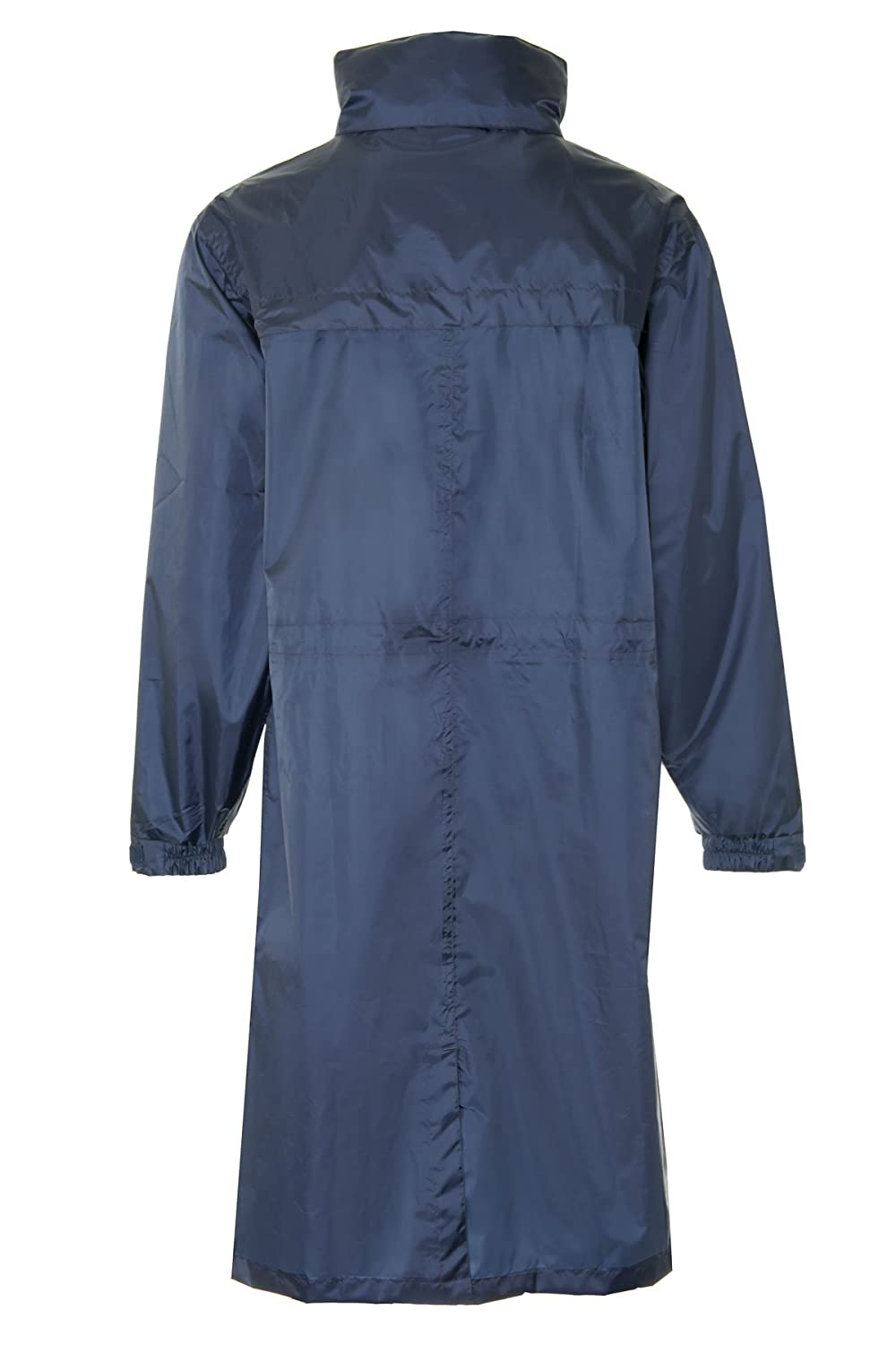 3f6c7faf4 Mens Womens Waterproof Breathable Packaway Raincoat Long Coat Size XL 16   Amazon.co.uk  Clothing