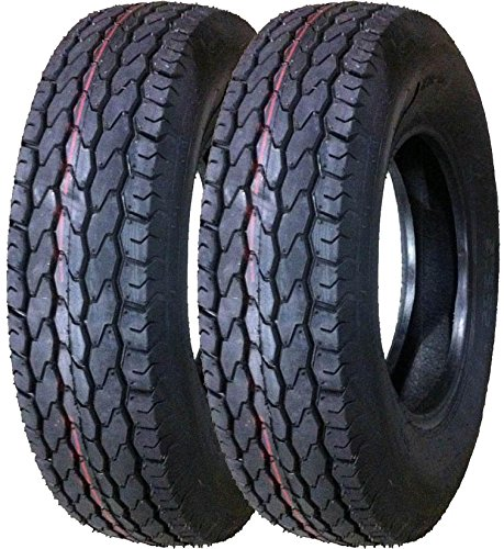 2 New Premium Trailer Tires ST 225/75D15 Deep Tread - 11022 …
