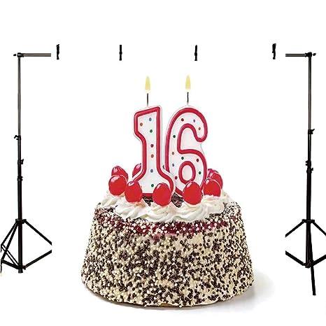 Decoraciones para el 16º cumpleaños, telón de Fondo Elegante ...