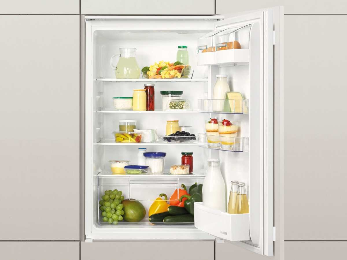 Zanker KBA16011SK Einbau Kühlschrank Kühlautomat Kühlgerät ...