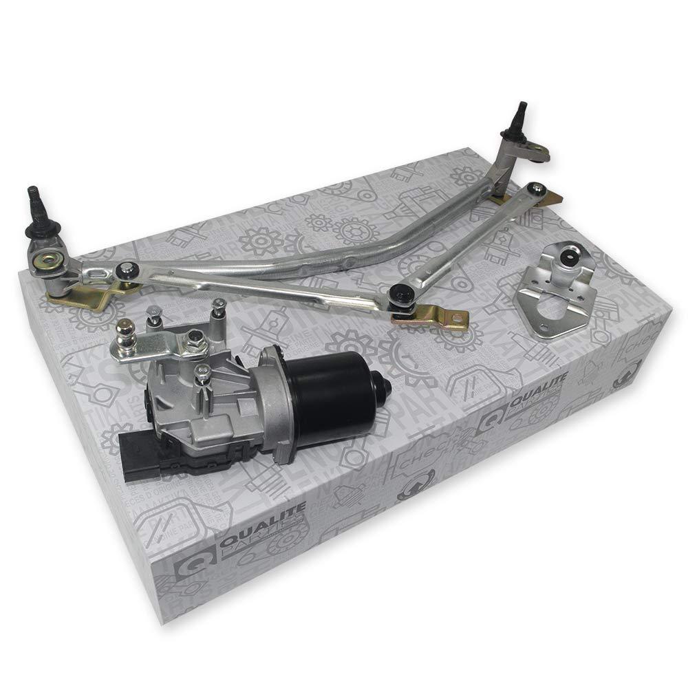Motor de limpiaparabrisas + barra de limpiaparabrisas: Amazon.es ...