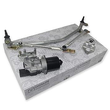 Motor de limpiaparabrisas + barra de limpiaparabrisas: Amazon.es: Coche y moto