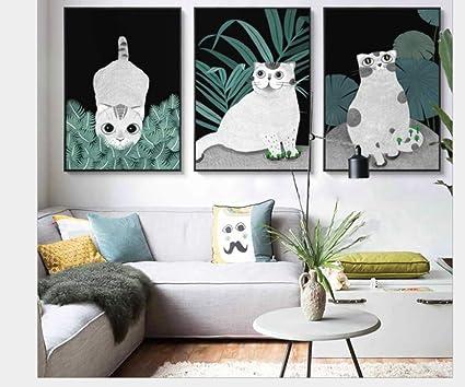 Amazoncom Rmiq Nordic Cartoon Animal Pattern Decorative