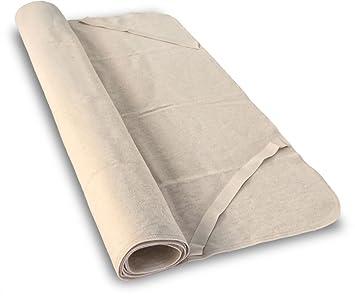 Baumberger Cubierto para colchon de Algodon organico, Maße (Matratzen. Kissen. Decken):90 x 200 cm: Amazon.es: Hogar