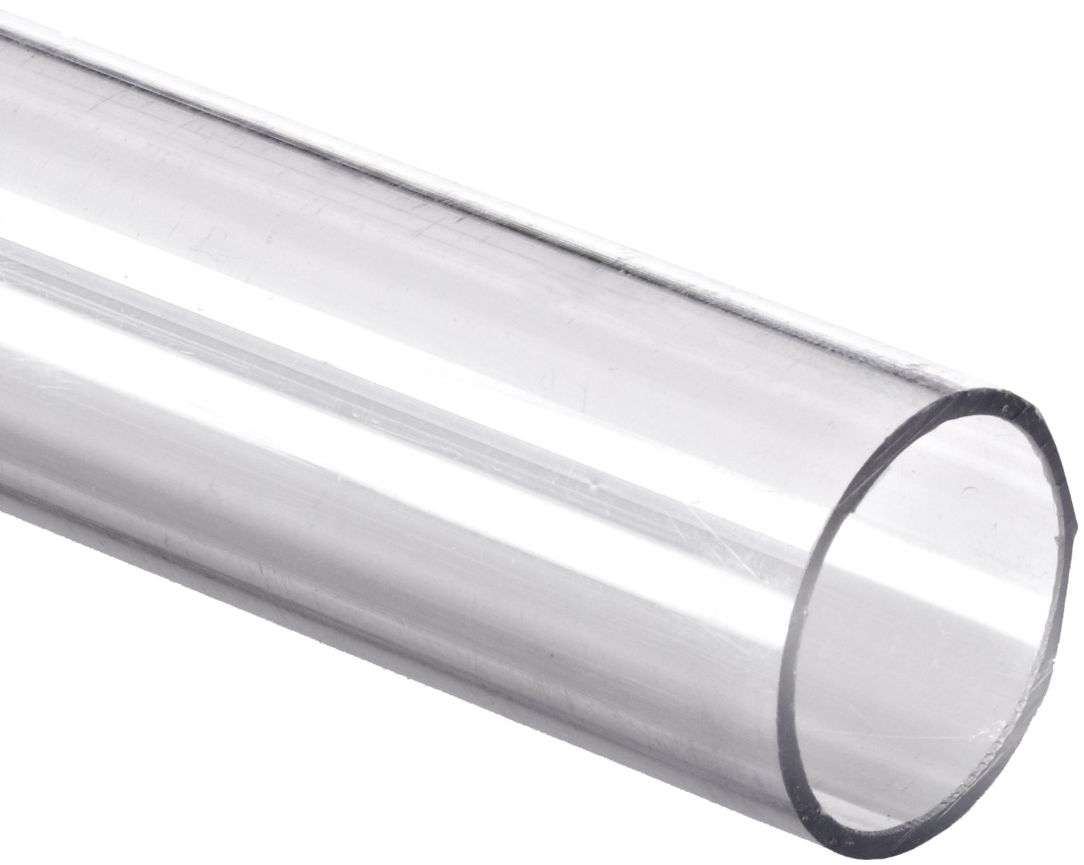Polycarbonate Tubing, 1/4'' ID x 3/8'' OD x 1/16'' Wall, Clear Color 72'' L